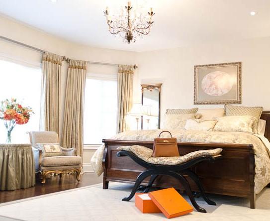 Lumar Interiors-Bedroom Aurora drapery