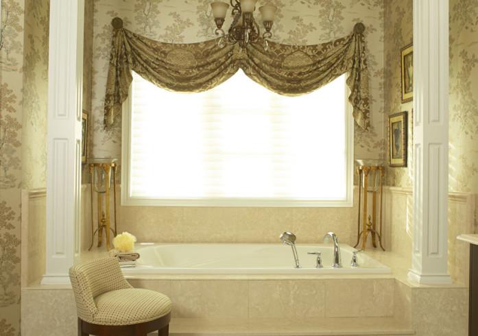 Aurora bathroom ensuite interior design by Lumar Interiors