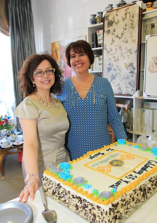 cake at 25th