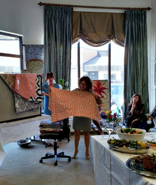 meredith heron fabrics at 25th