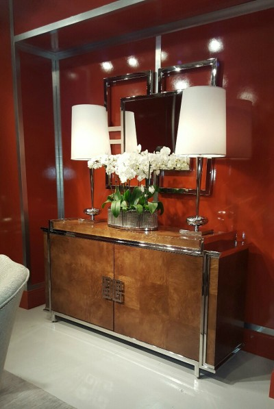 Bernhardt Furniture Hermes orange room