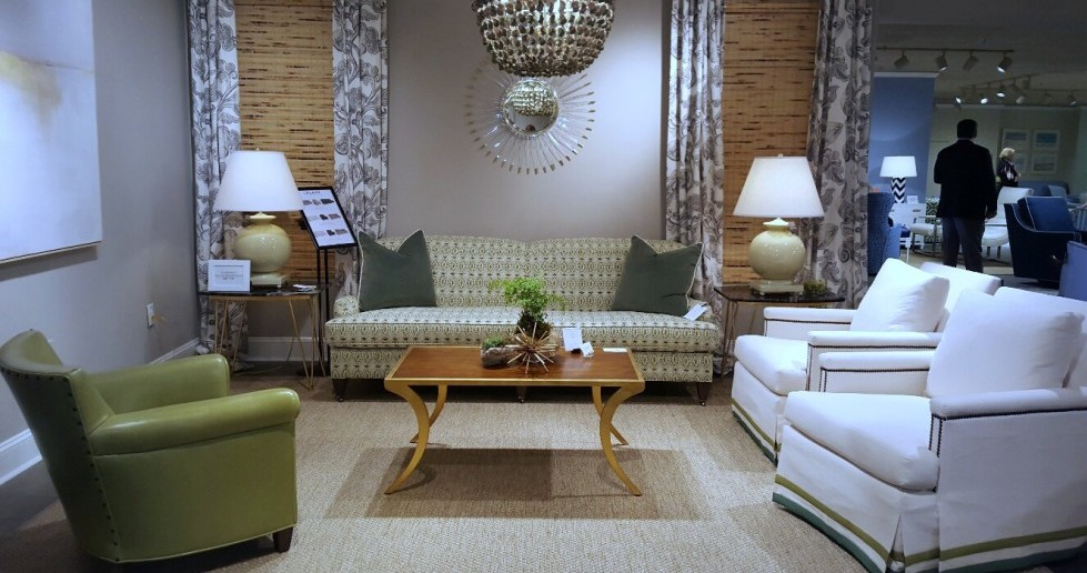 Upholstery and color trends from High Point Market 2015 by Vaughan's top interior designers